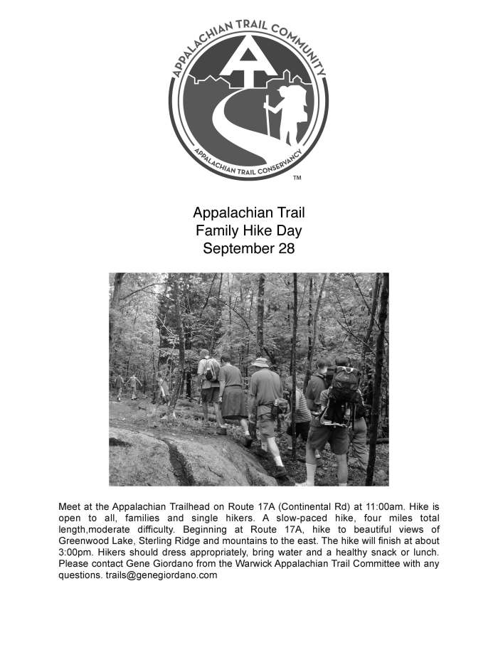 Family Hike flyer